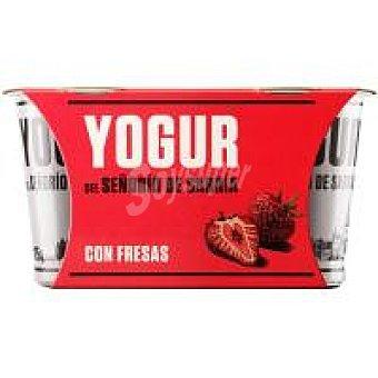 Señorio de Sarria Yogur con fresas Pack 2 x 125 g
