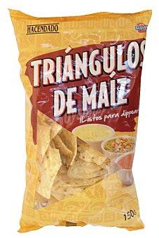 Hacendado Aperitivo triangulo maiz (para dippear) Paquete 150 g