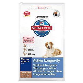 HILL'S SCIENCE PLAN MATURE Active Longevity Alimento especial para la movilidad de perros +7 años con cordero y arroz Bolsa 12 kg