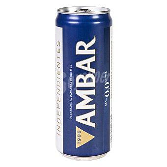 Ambar Green Cerveza sin alcohol Lata 33 cl
