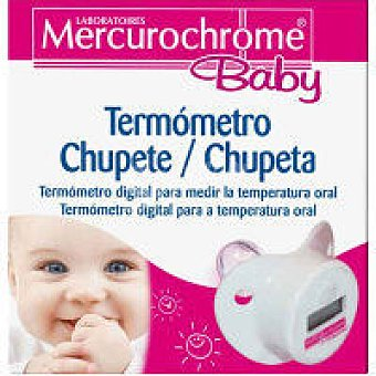 MERCUROCHROME BABY Termómetro chupete Pack 1 unid