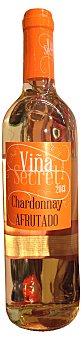 VIÑA SECRET Vino blanco chardonnay  Botella de 750 cc