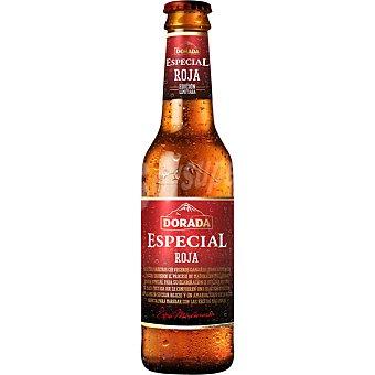 DORADA Roja Cerveza rubia nacional especial botella 33 cl 33 cl