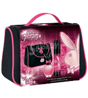 PlayBoy Estuche de colonia spray 50 ml.+ desodorante 75 ml.+ neceser Super 1 ud