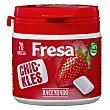 Chicle fresa grageas sin azúcar Bote de 70 unidades (100 g) Hacendado