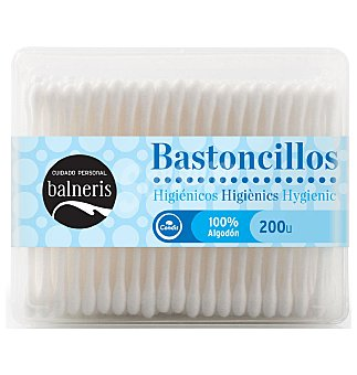 Balneris Bastoncillos algodón 200 UN