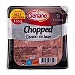 Chopped pork lata lonchas, serrano Paquete 185 g