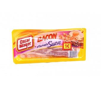 Oscar Mayer bacon ahumado suave en lonchas  sobre 100 g