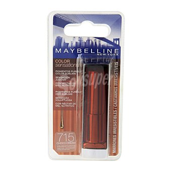 Maybelline New York Barra de labios color sensational 715 choco cream 1 ud