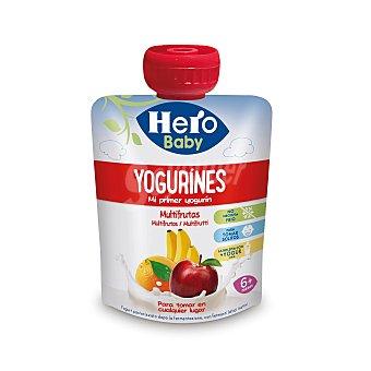 Hero Baby Bolsita de yogur multifrutas a partir de 6 meses Bolsita 80 g