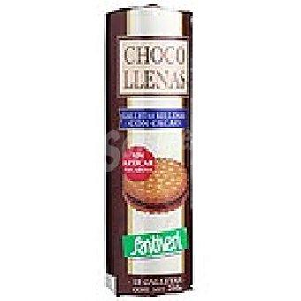 Santiveri Galletas rellenas de chocolate sin azúcar Estuche 250 g