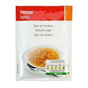 Eroski Basic Sopa de verduras Sobre 60 g