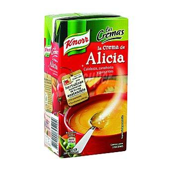 KNORR Crema de Alicia (calabaza, zanahoria y guisantes) 500 mililitros