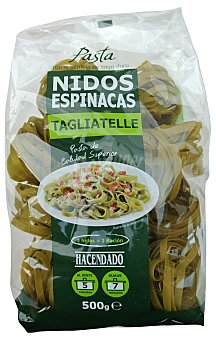Hacendado Nidos espinacas Paquete 500 g