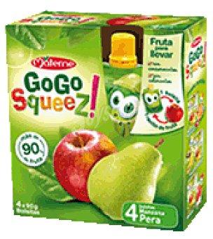Gogo Squeez Zumo Manzana / Pera Pack de 4x90 g