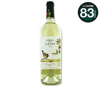 Ribera de Los Molinos Vino blanco Sauvignon Botella de 75 Centilitros
