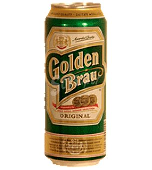 Golden Brau Cerveza lata 500 ml 50 cl