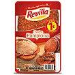 Chorizo de Pamplona, sin gluten y cortado en lonchas Paquete 70 g Revilla