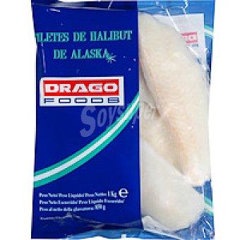Drago Foods Filete de halibut de Alaska Bolsa 1 kg