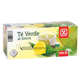 DIA Te verde al limon estuche 20 uds