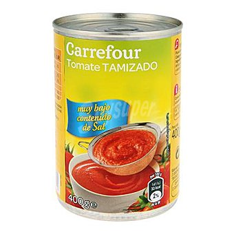 Carrefour Tomate tamizado sin sal 400 g