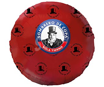 Sombrero de Copa Queso bola Edam tierno de bola 450 gramos aproximados