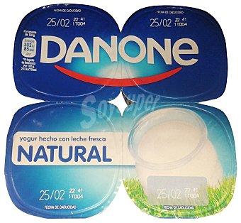 Danone Yogur natural Pack 4 x 120 g - 480 g