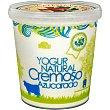 Yogur natural cremoso azucarado sin gluten envase 1 kg La Ermita de San Pedro