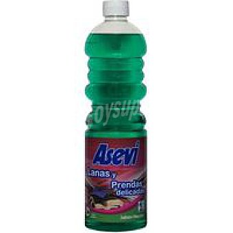 Asevi Detergente prendas delicadas Botella 25 dosis