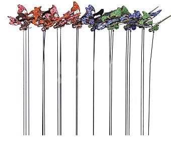 Profiline Pincho decorativo de jardín con formas de mariposas de 63 centímetros 1 unidad