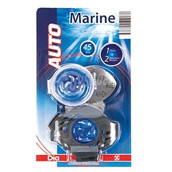 DIA Ambientador de coche aroma marino aparato + recambio 1 ud