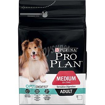 Pro Plan Purina Alimento especial para perro adulto cualquier raza digestión sensible con cordero y arroz Adult Digestion Bolsa 14 kg