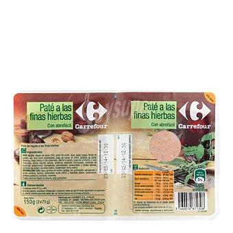 Carrefour Paté a las finas hierbas 150 g