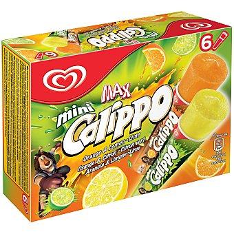 FRIGO CALIPPO Mini mix sabor naranja y limón  6 unidades (480 g)
