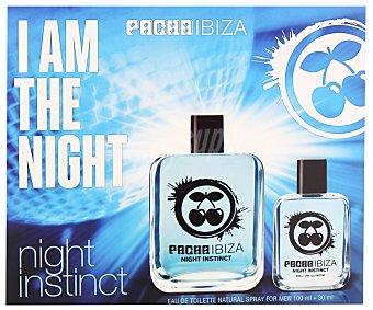 PACHA IBIZA NIGHT Estuche para hombre colonia 100 mililitros + 30