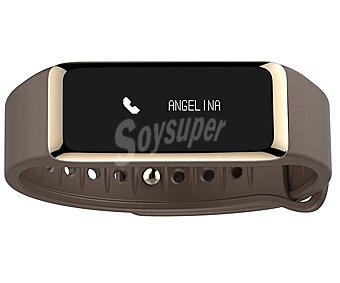 Mykronoz ZEFIT2 Pulsera fitness medidora de actividad diaria, reloj, pasos, distancia, calorias, pantalla táctil, control del sueño, llamada entrante, notificaciones, alerta por vibración, autonomías hasta 5 días, conexión Bluetooth