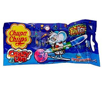 Chupa Chups Caramelo sabor fresa con golosina líquida sabor mora 27 gramos