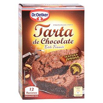 Dr. Oetker Preparado para tarta de chocolate estilo francés 12 raciones Estuche 355 g