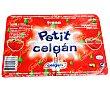 Petit suisse de fresa pack de 4 uds de 60 gr Celgan