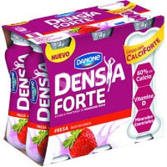 Densia Danone Densia para beber de fresa Pack 4x83 g