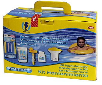 Pqs Kit de arranque para piscinas de hasta 15 m cúbicos PQS