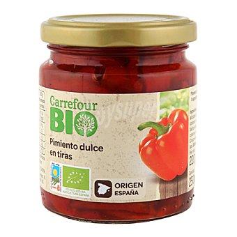 Carrefour Bio Pimiento dulce en tiras 175 g