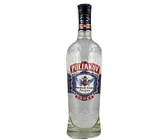 POLIAKOV Vodka premium Botella de 70 centilitros