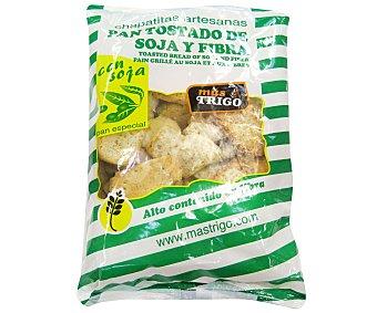 Mastrigo Pan tostado con soja, especial regimen 200 Gramos