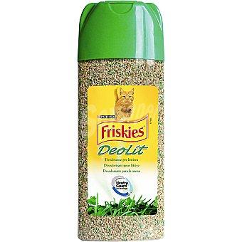 Purina Friskies Ambientador para arena de gato en polvo con olor a hierba Envase 600 ml