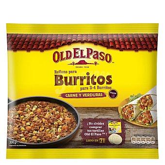 Old El Paso Relleno para burritos con carne y verduras 315 g
