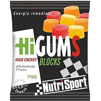 NUTRISPORT Bloks aporte energético Higums Envase de 80 g (30 unidades)