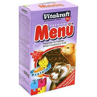 VITAKRAFT MENU Alimento completo para hurones paquete 800 g Paquete 800 g