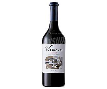 Vivanco Vino tinto reserva con denominación de origen calificada Rioja Botella de 75 cl