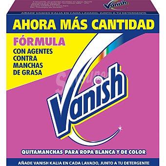 Vanish Quitamanchas en polvo para ropa blanca y de color caja 24 kg 24 kg